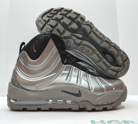 Nike Air Bakin Posite Pewter Grey Black Foamposite Gray Sneakerboot 618056-002