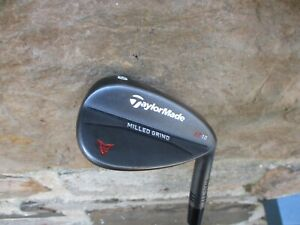 RH TaylorMade Milled Grind Black Lob Wedge 60° Dynamic Gold Steel Shaft SB 60-10