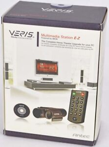 NEW Lot of 2 Antec Veris E-Z iMON Home Theater Multimedia Component Station