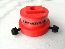 Polarscope adapter for Seagull / Neewer x2.5 right angle viewfinder - Color: RED