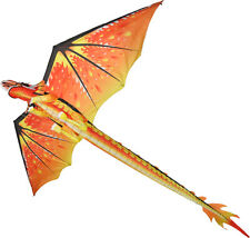 CLASSIC FIRE DRAGON KITE EASY TO FLY IDEAL FIRST KITE