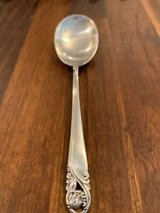 "Spring Glory by International Sterling Silver Sugar Spoon 6"" Serving"