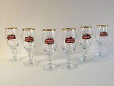 Stella Artois 15 cl Glass Chalice BELGIUM Beer ~ Set Of Six (6) Glasses ~ NEW