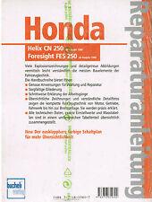 Reparaturanleitung Honda Helix CN 250 ab Bj 1988 Foresight FES 250 ab 1998, 5221