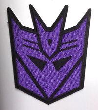 "Transformers Decepticon Purple Face Logo 3.25"" Patch- FREE S&H (TRPA-19)"