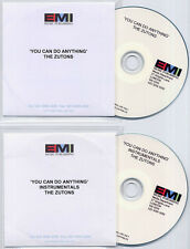 THE ZUTONS You Can Do Anything + Instrumentals 25-trk promo only publishing 2-CD