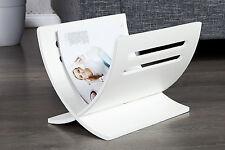 élégant Porte-revues Porte-revues DEPOSE shabby bois blanc moderne