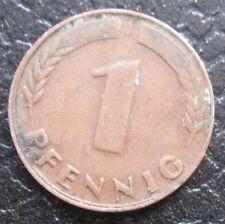 1 Pfennig Tedesco 1949 ( I ) Foglie di quercia -  nr. 790