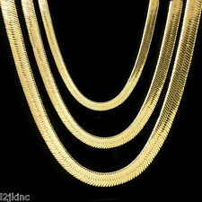 Men & Lady 14K Gold Plated 4mm - 14mm Flat 20