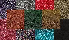 10g to 100g Micro Glitter Glass Art Beads Scrapbook Decoration -Buy 3 Get 1 FREE