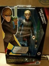 "Star Wars Galaxy Of Adventures 5"" Hasbro Luke Skywalker Jedi Knight Walmart"