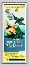 THE BIRDS movie poster LARGE 'wide' FRIDGE MAGNET - HITCHCOCK CLASSIC!
