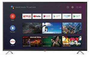 Sharp 4T-C50BL3KF2AB (50BL3KA) 50-Inch 4K UHD HDR Android Smart TV with Freeview