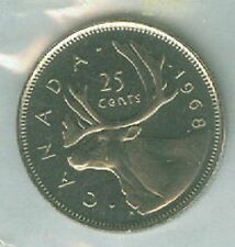 1968-PL Proof-Like Quarter 25 Cent '68 Canada-Canadian BU Coin UNC