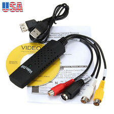 New Easycap USB 2.0 Audio Video VHS to DVD PC Converter Capture Card Adapter
