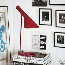 Modern Style E27 Red Height 56CM Metal Touch Switch Reading Desk Table Lamp