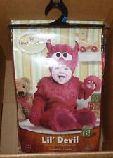 NEW INCHARACTER LIL DEVIL Costume 12-18 months M Infant Baby Boys NEW NWT
