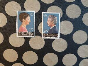 1984 Liechtenstein 2 stamps (Royalty)