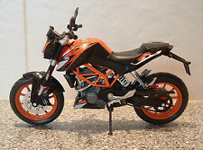 1:12 KTM 200 200cc SPORT DUKE MODEL SUPERB DETAIL FANTASTIC ORANGE BLACK V LTD