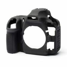 easyCover Silicone Skin Soft Case Camera Protection Cover for Nikon D850 Black