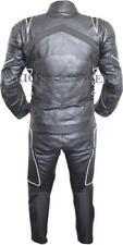 Combinaisons de moto noir en cuir, taille XXL