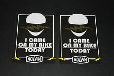 +057 Nolan Helm Helmet Batch Aufkleber Decal Sticker Autocollant Motorrad came