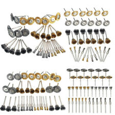 New Brass Wheels For Rotary Polishing Wire Steel Brush Kit For Dremel Stainless
