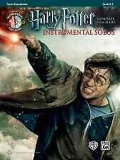 HARRY POTTER-INSTRUMENTAL SOLOS-TENOR SAXOPHONE-MUSIC BOOK/CD FILM SAX BRAND NEW