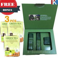 NATURE REPUBLIC Greentinol Special Kit + 3pcs Facial Mask Sheet  Korean Cosmetic