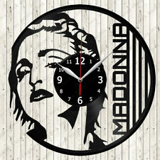 Madonna Vinyl Record Wall Clock Decor Handmade 2704