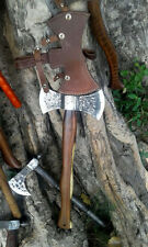 MDM AXEs HAND MADE FORGED HC 1095 HAWK TOMAHAWK VIKING WOOD CUTTER HATCHED