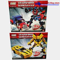 Transformers Lego compatible Bumble Bee Optimus Prime 238 pcs Prime 379 pc