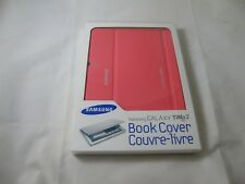 ** BRAND NEW ** Samsung Galaxy Tab 2 10.1  Book Cover Case (Pink) - TABLET