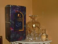 Da Vinci Crystal  GROSSETO Whisky Decanter in fine cut 24% lead crystal