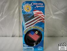 American Flag Light Up Necklace Applause Glo Gear Glow