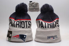 New England Patriots NFL Beanie Cap Hat Football Rugby Fan Winter Kintted Lint
