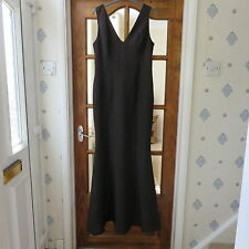 Oeuvre Black Bodycon maxi evening dress size L BNWT