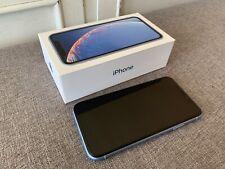 New listing Apple iPhone Xr - 64Gb - Blue (Unlocked) Verizon, T-mobile, At&T, Sprint