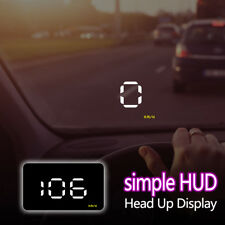 "Uinversal Car GPS HUD Head Up Display 3.5"" LCD OBD2 Overspeed Warning System"