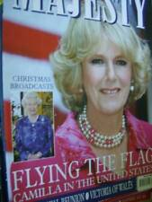 Majesty Magazine V26 #12 Camilla In US, Royal Christmases, Queen's Christmas Bro