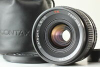 [MINT] Contax Carl Zeiss Distagon T* 35mm F/2.8 MMJ MF Lens C/Y Mount From JAPAN