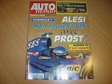 Auto hebdo N°1217 Audi S6/Audi S8.Euroc Racing Roadster