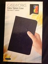 "Economical 7"" Folio Tablet Case by CASEWORKS"
