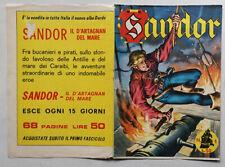 INSERTO Locandina SANDOR Blek 158 DARDO 1966