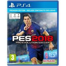 VIDEOGAMES PES 18 PS4 ITALIANO PRO EVOLUTION SOCCER 2018 PREMIUM EDITION