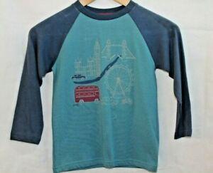 Boys Long Sleeve Top - Blue - Age 5 - RRP £15 - Kite