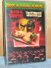 Drive In Double Feature: Blood of the Vampire/The Hellfire Club (Dvd, 2006) New