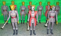 Doctor Who SILURIAN Action Figure Lot x10 - Used