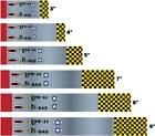 White Water Archery WWII Fighter Mustang Arrow Wraps 15pc Choose Length Width