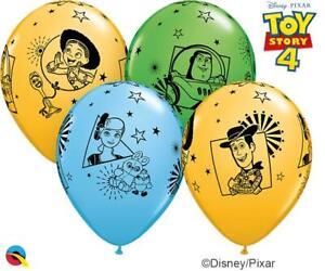 "Toy Story 4 Qualatex 11"" Latex Balloons x 25"